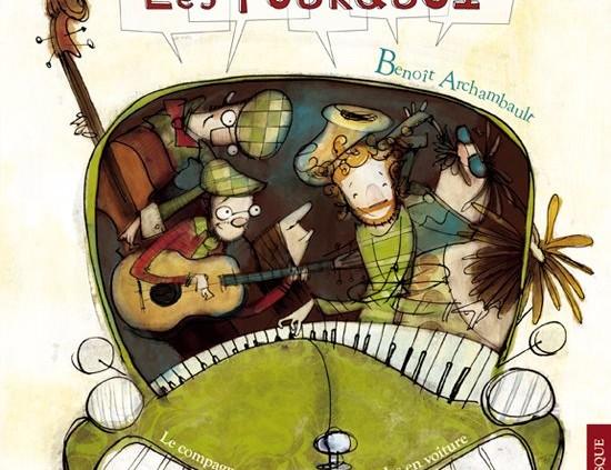 """Spectacle """"Les Pourquoi"""" de Benoît Archambault"""
